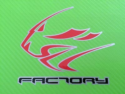 Aprilia Factory Lion Decals Stickers Track bike or road fairing DecalsPAIR#93