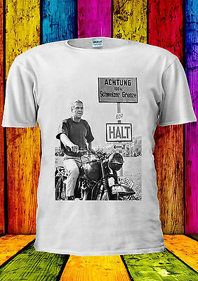 Steve McQueen The Great Escape Swag T-shirt Vest Tank Top Men Women Unisex 2036