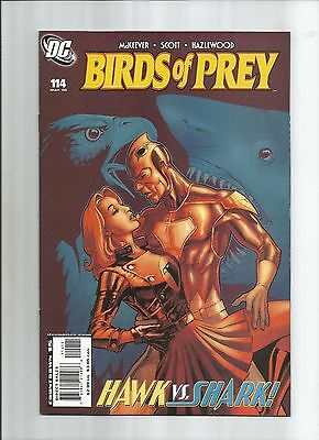 Birds Of Prey #114 High Grade (9.0.) Shark Dc