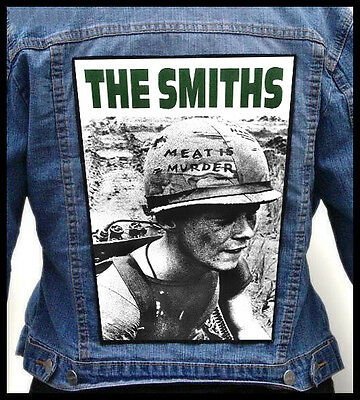 THE SMITHS - Meat Is Murder --- Giant Backpatch Back Patch / Joy Division Clash
