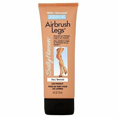 Sally Hansen Water Resistant Airbrush Legs Lotion # TAN GLOW (TUBE/LOTION)#118ml
