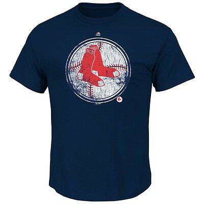 MLB Baseball BOSTON RED SOX League Supreme Cooperstown T-Shirt von Majestic