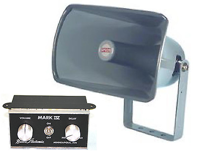 ICE CREAM TRUCK, VAN MUSIC BOX - MARK IV  w/MATCHING 25 watt speaker