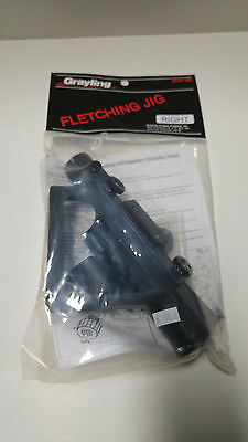 Grayling Fletching Jig & Clamp - Available in Straight or Right