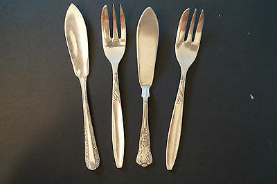 Collectable - Vintage - Group Lot of 4 - Various Cutlery
