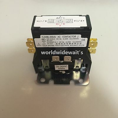 CJX9B-25S/D AC 220V Air Conditioner Coil Magnetic Contactor