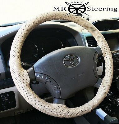 Bicast Leather Steering Wheel Cover NEW Toyota Hilux /& Fortuner