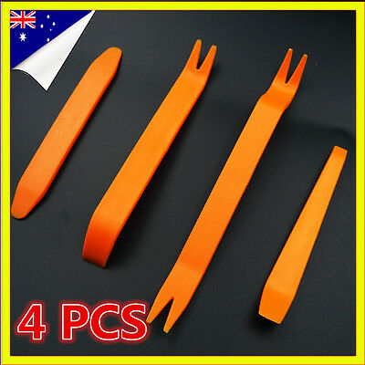 Audio Radio Installer Car Door Plastic Trim Panel Dash Removal Pry Kit 4 Pcs