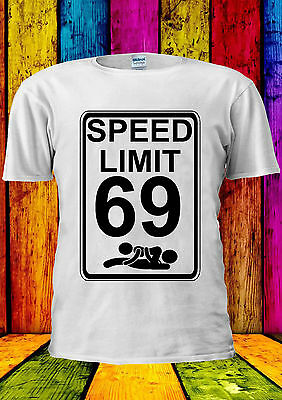 Speed Limit 69 Sex Position Funny T-shirt Vest Tank Top Men Women Unisex 1862