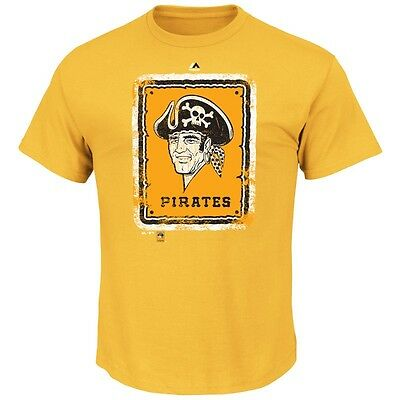 MLB Baseball PITTSBURGH PIRATES League Supreme Cooperstown T-Shirt von Majestic