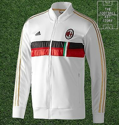 AC Milan Anthem Jacket - Official Adidas Training Track Top - Mens - All Sizes