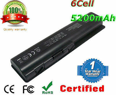 Laptop Battery pack for spare 484170-001 HP Pavilion dv6-2114sa Notebook 5200mAh