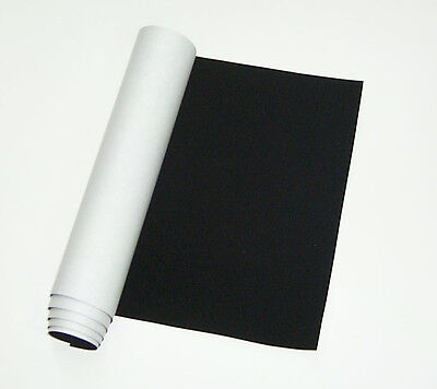 "ScopeStuff #FLK1SA - Black Flocking Material, Self Adhesive, Sample size 3"" x 4"""
