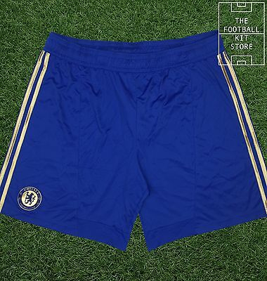 Chelsea Home Shorts - Official Adidas CFC Football Shorts - Mens - 2XL / XXL