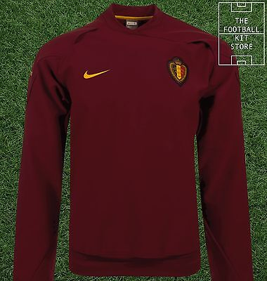 Belgium Football Sweater - Nike Belgian Training Pullover / Top - Mens - Large