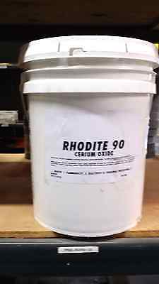 Ceriuim Oxide Hi Grade optical white 44 lb bucket