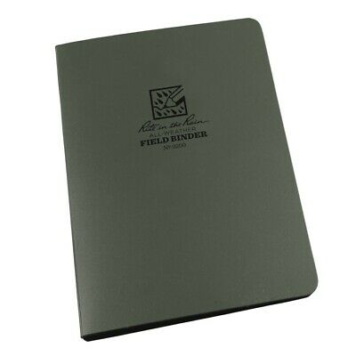 """Rite in the Rain 9200 All-Weather 1/2"""" Field Ring Binder, Green"""