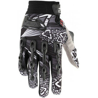 Leatt NEW 2016 Mx Gear Airflex Lite Black BMX MTB Motocross Dirt Bike Gloves