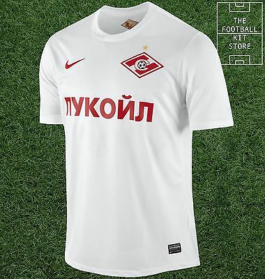 Spartak Moscow Away Shirt - Official Nike Football Jersey - Mens - All Sizes