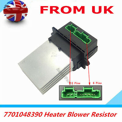 7701048390 Heater Blower Motor Resistor For Renault Megane Modus Scenic Twingo