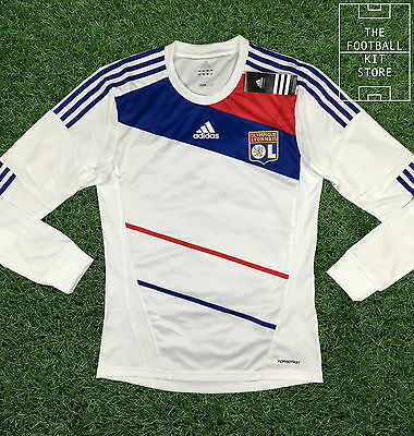 Lyon Home Shirt - Official Adidas Olympique Lyonnaise Shirt - All Sizes