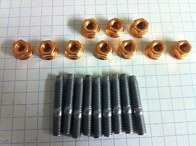 Peugeot 205 1.6 & 1.9 GTi Exhaust Manifold stud and Nut Kit, PUG RACING