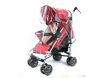 New Universal Baby Pushchair Stroller Cover Pram Buggy Transparent Rain Cover