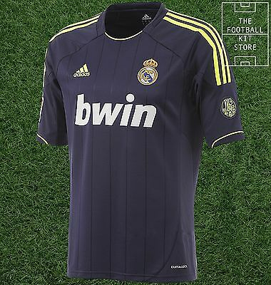 Real Madrid Away Shirt - Official Adidas Football Jersey - Mens - All Sizes