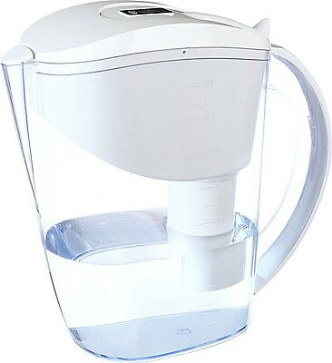 Wellblue Alkaline Ionizer Water Filter Pitcher 3.5L Filter Included-White
