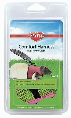 Kaytee Super Pet Comfort Harness W/Stretchy Stroller Small Direct from Manuf