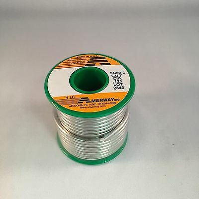 Amerway Lead Free Solder for Copper Foil, Jewelry etc - Stained Glass Supplies