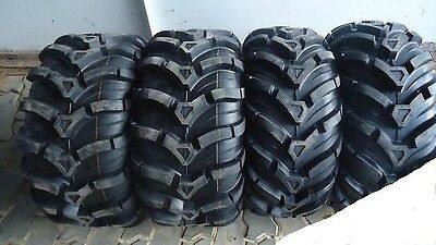 """2002-2015 Yamaha Grizzly 450 660 700 25"""" Cst Maxxis Ancla Atv Tire Set Of Four"""