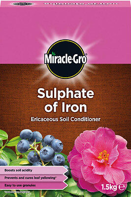 Miracle-Gro - Sulphate Of Iron Ericaceous Soil Conditioner - 1.5kg