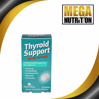 Thyroid Support Formula, Natural Homeopathic, x60tabs