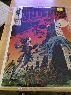 Nick Fury,agent Of Shield #3,mid Grade,signed By Steranko!