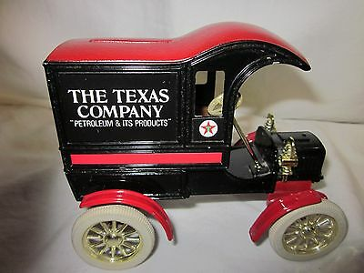 Vintage Texaco Collectible Bank--Replica of 1905 Ford's First Delivery Car