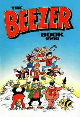 The Beezer Book Annual 1990 very good condition Comic