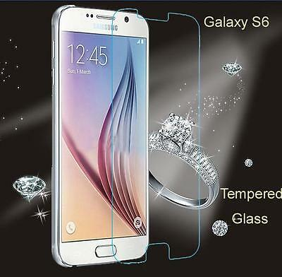 For Samsung Galaxy S6 .45mm Tempered Shatterproof Glass Screen Protector