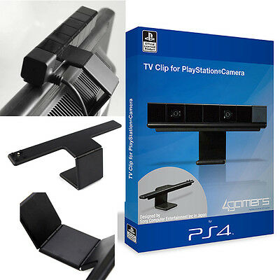 Vertical Stand Adjustable Clip TV Stand Hold Holder Camera Mount For Sony PS4