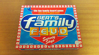 Board Game - Bert's Family Feud 100% Complete