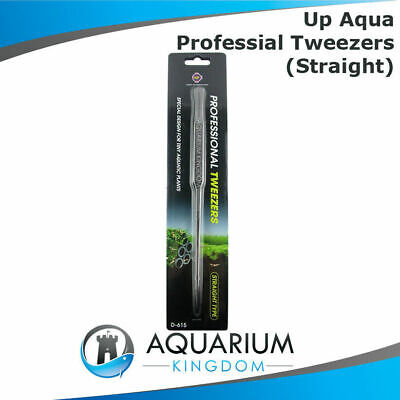 UP Aqua Tweezers STRAIGHT Stainless Steel Planting Professional Aquascaping Tool
