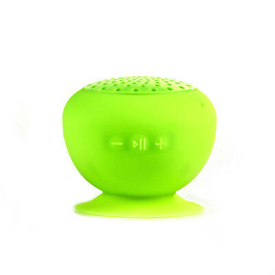 Cocofinity Portable Bluetooth Splash-Proof Yellow Suction Speaker - Mp3 Mobile