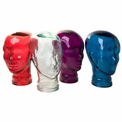 GLASS HEAD Ideal VR/Virtual Reality head set stand/display selection of colours