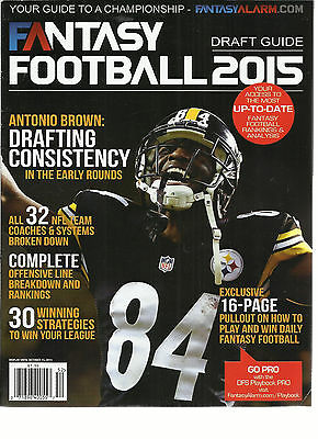 2015  Fantasy Football  Draft Guide,    ( Your Guide To A Championship )