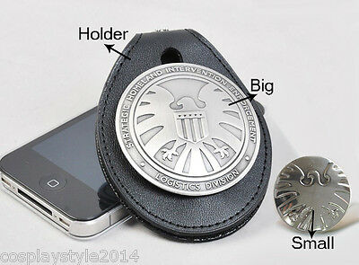 Agents of S.H.I.E.L.D SHIELD Logo Eagle Sign Symbol Badge Pin Pip Cosplay Prop