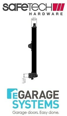 Safetech Magnetic Top Pull Latch Keyless Black Pool Gate Latch SL-50K