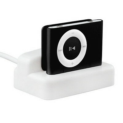 USB Charger & Sync Replacement Docking Station Cradle for Apple iPod Shuffle  OK