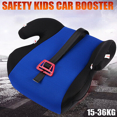 Safe Baby Child Kid Children Car Booster Seat Blue Fit 3 To 12 Years 15-36KG