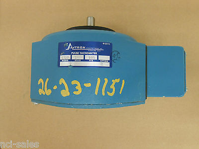 "Nidec Avtron K670 Ir Pr100 Pulse Tachometer 1/2"" Flatted Shaft"