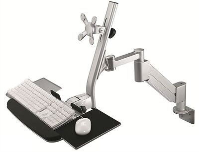 Arise Monitor Arm for Sit Stand Desks AEMMSLA8AK